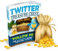 Thumbnail *NEW*! Twitter Treasure Chest   With Master Resell  Rights