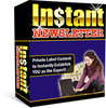 Thumbnail NEW!* Instant Newsletter  With Resell Rights
