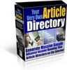 Thumbnail NEW!* Article Directory Script With Resell Rights