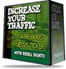 Thumbnail Traffic Boost News Ticker With Resell Rights