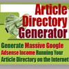 Thumbnail NEW!* Article Directory Generator With MRR*