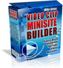 Thumbnail *NEW!* Video Clip Mini Site Builder  With PLR*