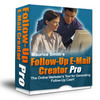 NEW!* Follow Up Email Creator Pro