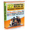 Thumbnail 27 Essential Rules and Tactics of Internet Marketing MRR*