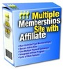 Thumbnail NEW!* Multiple Membership Site With Affiliates + PLR*