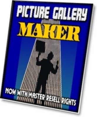 Product picture NEW* Picture Gallery Maker With MRR