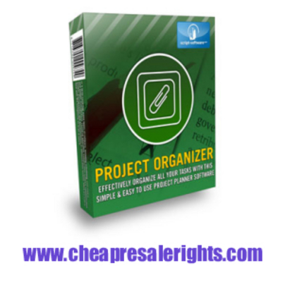 Product picture NEW*! Project Organizer With Resale Rights