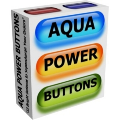 Product picture NEW* Aqua Power Buttons  With PLR