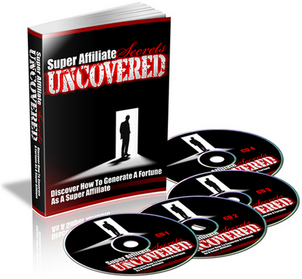 Product picture NEW! Super Affiliate Secrets Uncovered With PLR