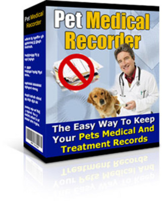 Product picture Pet Medical Recorder With Resell Rights