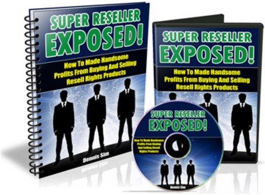 Product picture NEW!* Super Reseller Exposed With  Resell Rights.