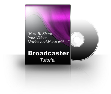 Product picture NEW!* Broadcaster.com Videos With PLR*