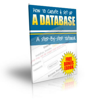 Product picture NEW!* How To Create And Set Up A Database Videos + PLR **