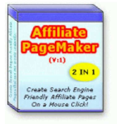 Product picture Affiliate Page Maker With Resale Rights