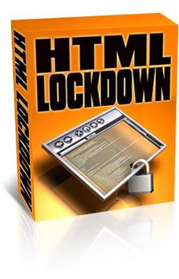 Product picture NEW!* Html Lock Down With PLR*