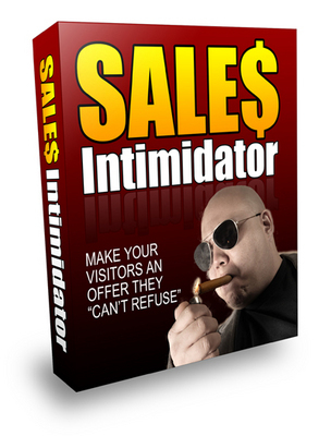 Product picture NEW!* Sales Intimidator With PLR*
