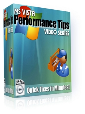 Product picture NEW!* MS Vista Performance Tips With PLR*