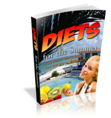 Product picture NEW!* Summer Diets Ebook + MRR*