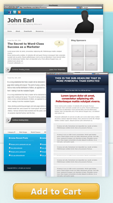 Product picture NEW!* Pro Marketer Theme