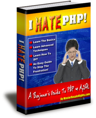 Product picture NEW!* I Hate PHP Ebook With MRR*