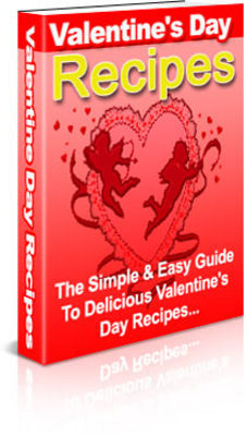 Product picture NEW!* Valentine Recipes MRR*