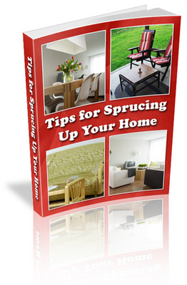 Product picture NEW!* Tips for Sprucing Up Your Home MRR*