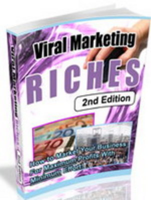 Product picture NEW!* Viral Marketing Riches 2nd Edition MRR*