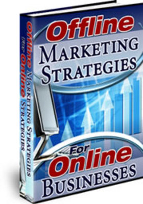 Product picture NEW! * Offline Marketing Strategies With MRR*