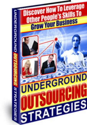 Product picture NEW!* Underground Outsourcing Strategies MRR*