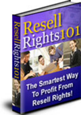 Product picture Resell Rights 101 With MRR*